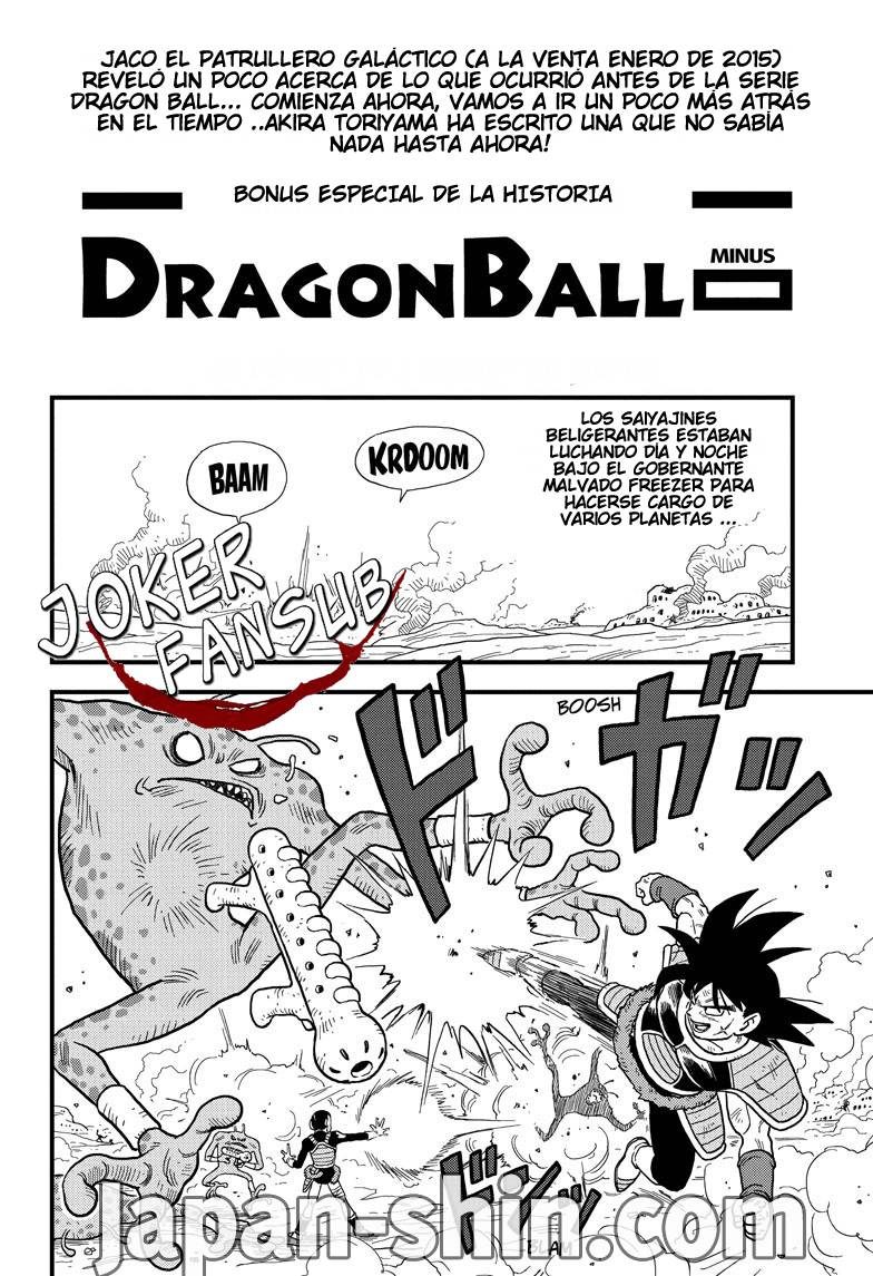 Dragon Ball Minus 01