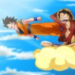Goku-and-Luffy